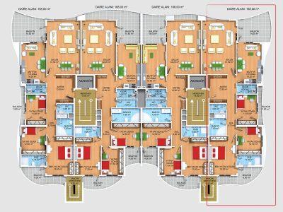 B-C Blok kat planı - Kopya